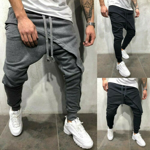 Man Casual Fashion Jogger Sweatpants Slim Fit Sport Track Pants Workout Trousers