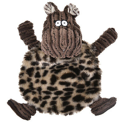 Fleece Squeaky Toy - Pet Dog Sound Toy Fleece Sprawled Cattle Puppy Chew Squeaker Squeaky Plush Toys