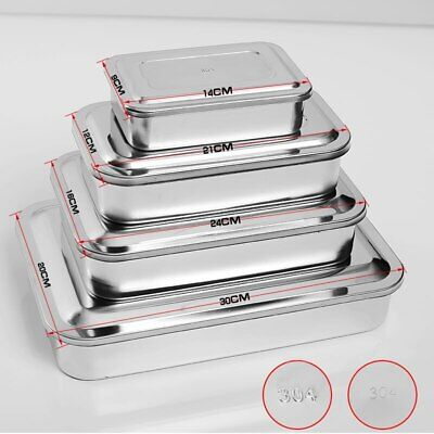 Sterilization Tray Box Square Plate Without Hole Cover Surgical Medical Tools