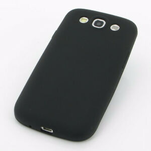 Samsung S3 Black Silicon Case