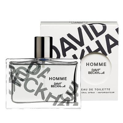 DAVID BECKHAM HOMME 75ML EAU DE TOILETTE SPRAY BRAND NEW & SEALED *