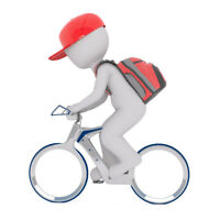 E-Bike Delivery Person