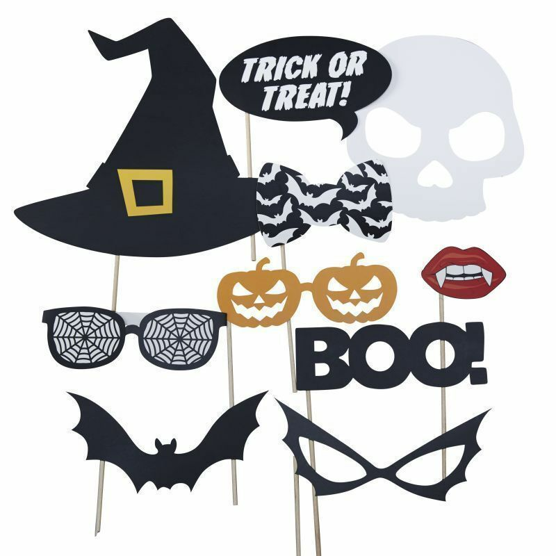 Trick or Treat - Halloween Party Photo Booth Props