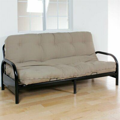 acme nabila full futon mattress in black