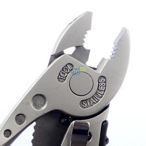 Outdoors Multitool Rescue Tool Pocket Knife Pliers Spanner Wrench Screwdriver