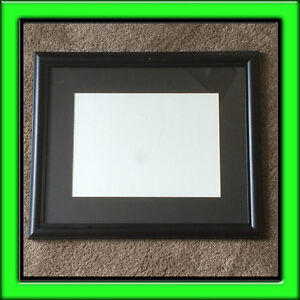BLACK  WOODEN  FRAMES  WITH  MATTING