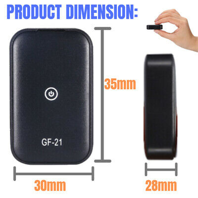 Car Vehicle Gsmwifi Gps Tracking Tracker Real Time Device Spy Audio Recording