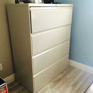Excellent condition industrial filing cabinet- 6 months old