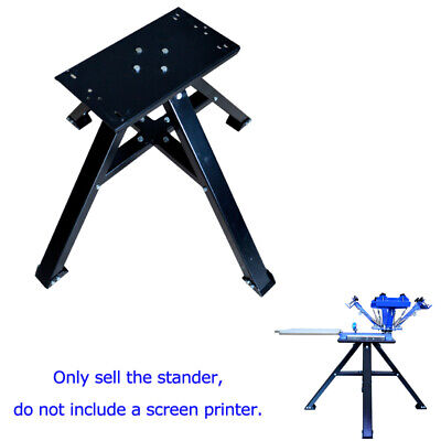 Metal Floor Holder For Screen Printing Techtongda4 Color 1 Station Press Printer