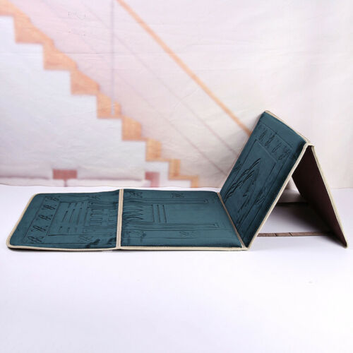 2021 Foldable Prayer Mat with Travel Bag(Dark Green)