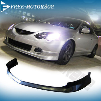 Fit 02-04 Acura RSX DC5 JDM TR Type-R Front Bumper Lip Spoiler Body Kit PU Acura Rsx Dc5 Types