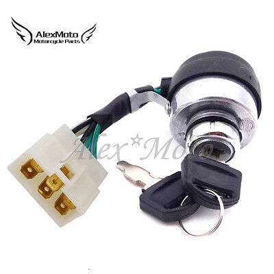 Combination Ignition Key Switch For Honda Eu3000is Eu3000is1 6.5hp 2.8kw 3kw