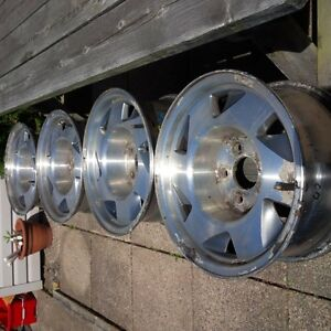 """4 15 """" Alloy Rims $100 from 2000 Sonoma"""