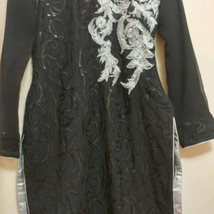 3-Piece Fancy Sequin Shalwar Kameez