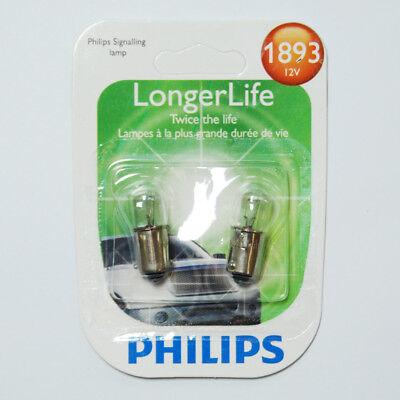 Philips 1893 - 14v T3.25 Ba9s Base Long Life Automotive Miniature Bulb - 2 pk (Miniature Bulb Ba9s Base)