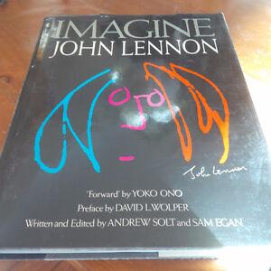 Book: Imagine John Lennon, 1988 Kitchener / Waterloo Kitchener Area image 1