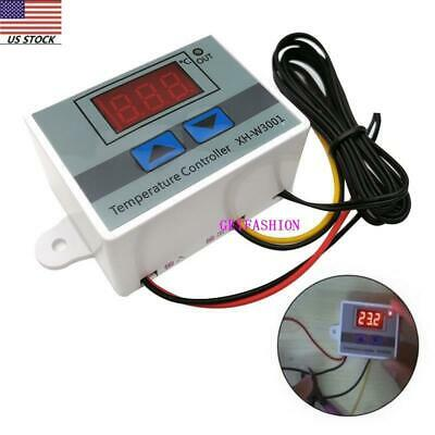 A4 Incubator Digital Temperature Controller Thermostat Control With Switch+Probe Temperature Control Switch