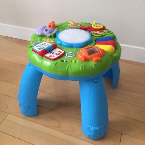 Table d'éveil musical des animaux Leapfrog