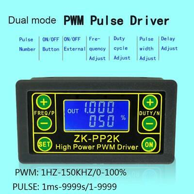 Zk-pp2k Pwm Dc Motor Speed Controller Switch Led Dimmer Digital Pulse Driver