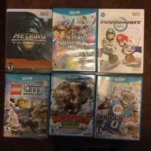 Wii/Wii U Games for Sale