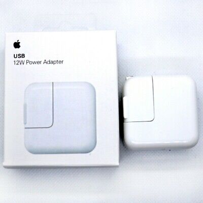 Apple 12W USB Power Adapter Wall Charger A1401 For iPhone iPad iPod