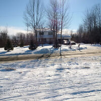 1450 sqft 2 storey home on 3.25 acres of land for sale