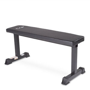 Fitness Gym Barbell Flat Bench Banc Haltère 11012