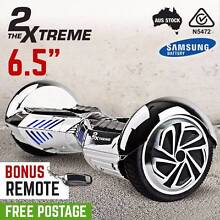 "FREE SHIP- 6.5"" Chrome Carbon Fiber Xtreme Self Balancing Scooter Penrith Penrith Area Preview"