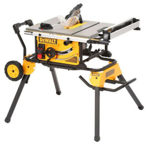 Dewalt DWE7491RS table saw 32+ in rip  with rolling stand