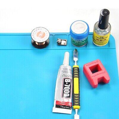 Silicone Anti Static Heat Insulation Pad Soldering Repair Maintenance Mats Us