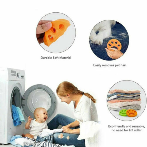 New Pet Hair Remover for Laundry Washing Machine Cat Dog Fur Catcher Reusable