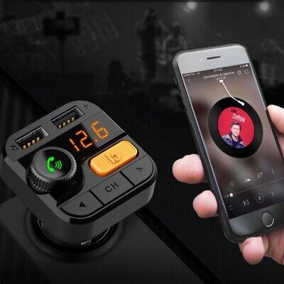 Best Bluetooth 5.0 Car FM Transmitter Audio Adapter Modulator Wireless