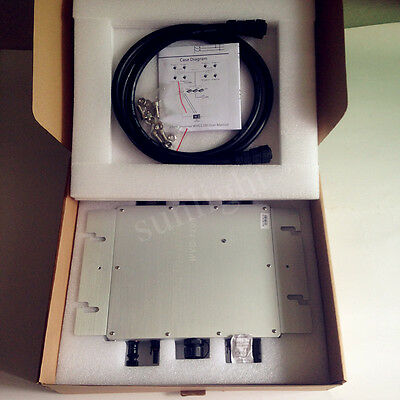 1200W Grid Tie Micro Inverter With Power Line Communication Mppt Pure Sine Wave