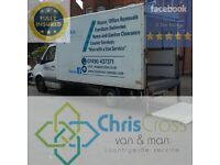 ChrisCross Van & and Man - House Removal, Rubbish, Garage, Garden Clearance, Sofa/Furniture Delivery