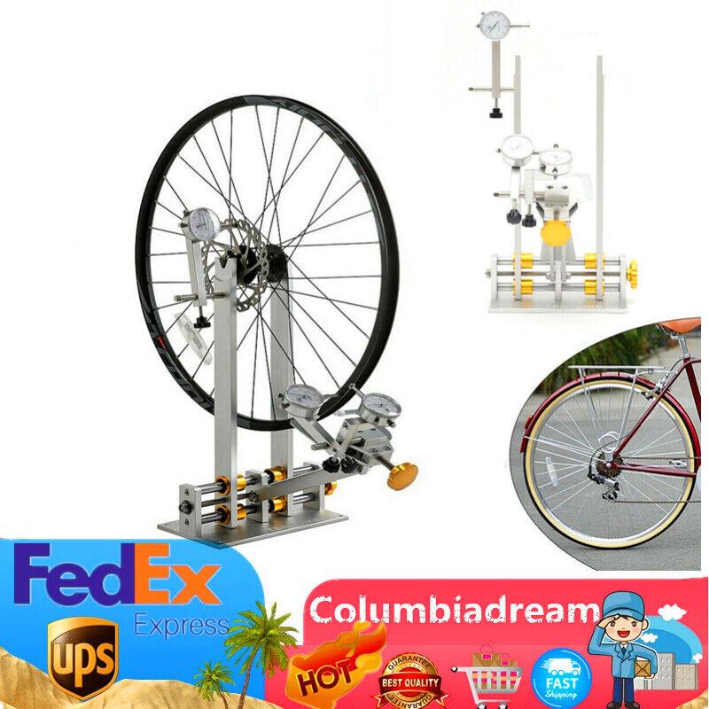 Bicycle Wheel Truing Stand Maintenance Platform Wheel Trimming Repair Tool Kit