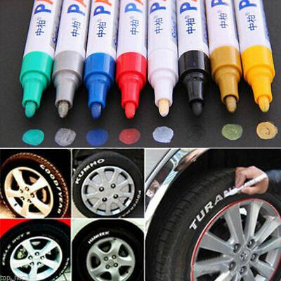 Metallic Paint Pens (Waterproof Permanent Paint Marker Pen for Car Tyre Tire Tread Rubber Metal)