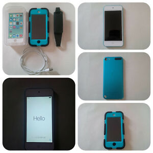 iPod Touch 32GB Blue with Survivor case