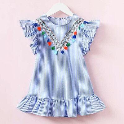 US Boutique Toddler Baby Kids Girl Princess Summer Casual Dress Sundress - Toddler Boutiques