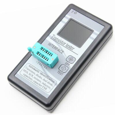 Lcd Esr Meter Transistor Tester Capacitance Inductance Diode Triode Mos Npn Az