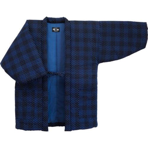 Japanese Kimono Hanten Warm Wear Winter Jacket Free size Made in JAPAN 18007