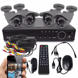 BEST QUALITY 8-Channel 720P AHD Hi-Def Security System