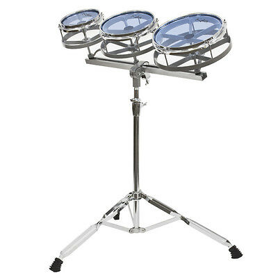 Kalos Roto Tom Set ~ 6, 8 and 10 with Height Adjustable Double Braced Stand