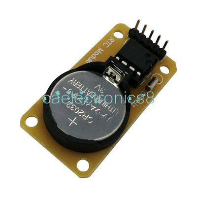 Ds1302 Clock Module Real-time Clock Module For Arduino Without Battery Ca New