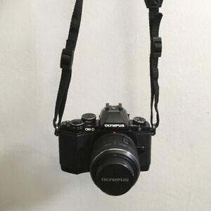 Olympus OM-D EM-10 Mk1 BODY and TWO LENSES plus accessories