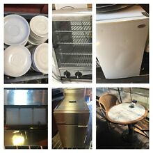 Cafe Clearance Crokery Bar Fridges Deep Fryer Pie Warmer Tables Northam 6401 Northam Area Preview