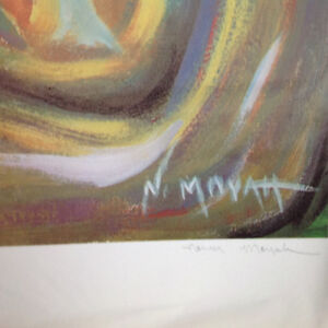 Abstract Limited Edition Print by Norman Moyah - $45 Strathcona County Edmonton Area image 2