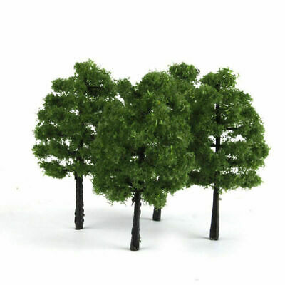 20pcs 9cm HO OO Scale Model Trees Train Railroad Layout Diorama Wargame Scenery