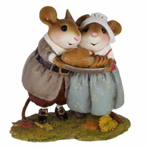 Wee Forest Folk Christmas M-593 Pilgrim Potluck