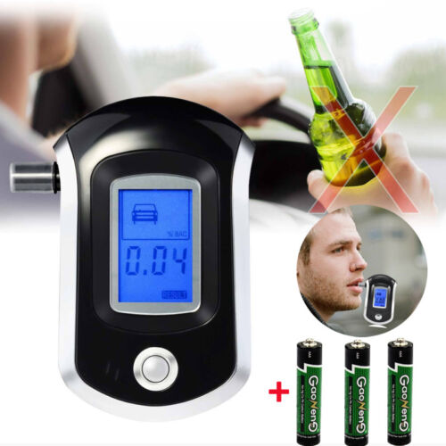 advance police digital breath alcohol tester lcd
