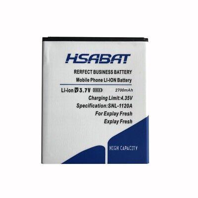 HSABAT Explay Fresh 2700mAh Battery Use for Explay Fresh Explay Vega Explay A500